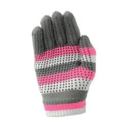 Hy5 Vuxna magiska mönstrade handskar One Size Rosa / Grå