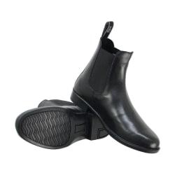 HyLAND Vuxna Melford Leather Jodhpur-stövlar 6 UK Svart