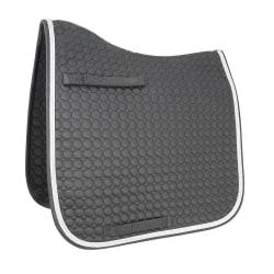 HyWITHER Double Braid Dressage Pad Cob/Full Svart