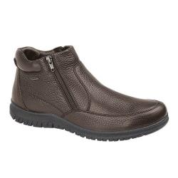 IMAC Läder Ankelstövlar för män 7.5 UK Brun