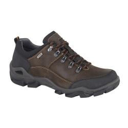 IMAC Vattentäta läderskor för herrar 9 UK Mörkbrun