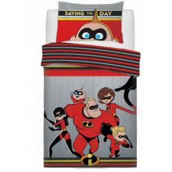 Incredibles Barn / barn som sparar dagens täcke-set Double Flerf