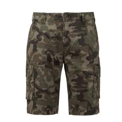 Kariban Vuxna unisex multi-pocket-shorts 34in Kamouflage