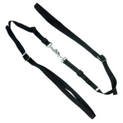 Kincade Nylon / elastiska justerbara sido tyglar One Size Svart