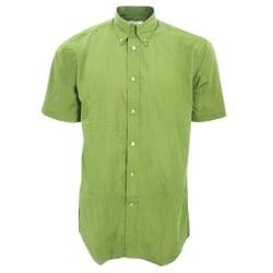 Kustom Kit Män Workforce kortärmad skjorta / arbetsklädertröja f