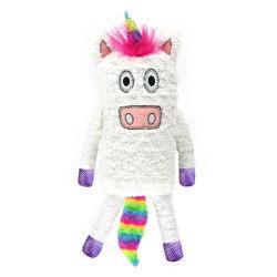 LazyOne Plysch Sparkle Unicorn-kudde One Size Flerfärgade
