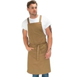 Le Chef Unisex förkläde för vuxna One Size Kaki