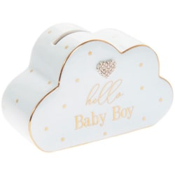 Lesser & Pavey Hej Baby Cloud Money Bank One Size Blå
