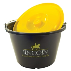 Lincoln hink med lock One Size Svart gul