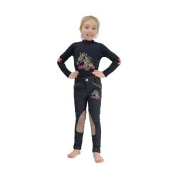 Little Rider Childrens / Girls Riding Star Denim Jodhpurs 3-4 Ye