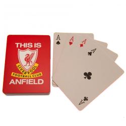 Liverpool FC Detta är Anfield-spelkort One Size Röd