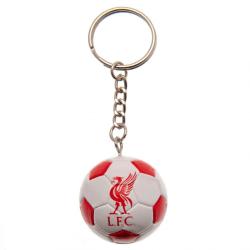 Liverpool FC Fotboll nyckelring One Size Vit röd