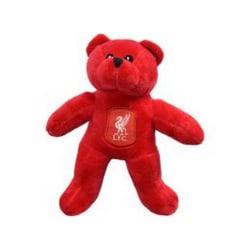 Liverpool FC Officiell Crest Design Bear One Size Röd