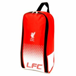 Liverpool FC Officiell Crest Design Fade Shoe Bag One Size Röd v