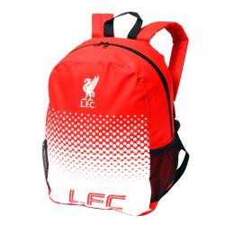 Liverpool FC Officiell Fade Crest Design-ryggsäck One Size Röd v