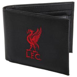 Liverpool FC Officiell läderplånbok för män med broderad fotboll