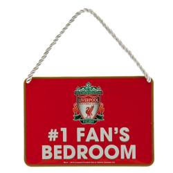 Liverpool FC Officiellt sovrum nr 1 Fanskylt One Size Röd