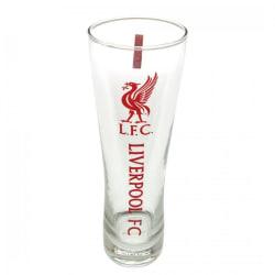 Liverpool FC Officiellt Tall Beer Glass One Size Röd