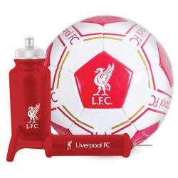 Liverpool FC Signatur fotboll presentuppsättning One Size Röd