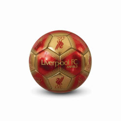 Liverpool FC Signatur Mini Fotboll 1 Red / Gold