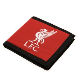 Liverpool FC Touch Fastening Canvas Wallet One Size Röd / Svart