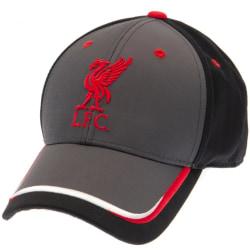 Liverpool FC Unisex Magnesiumkeps för vuxna One Size Dark Grey / Black Dark Grey/Black/Red One Size