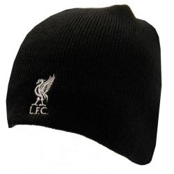 Liverpool FC Vuxna Unisex Crest Beanie Stickad hatt One Size Sva