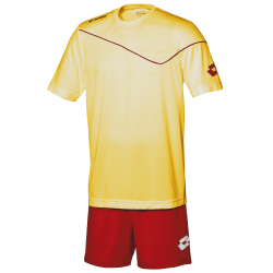 Lotto Herr fotbolls kit Sigma T-shirt 2XSB Gul / Flame