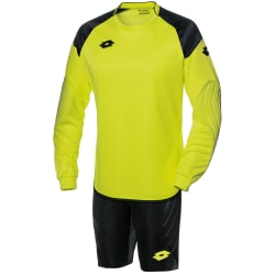 Lotto Junior Unisex Cross Långärmad GK-kit 2XSB Gul neon / svart