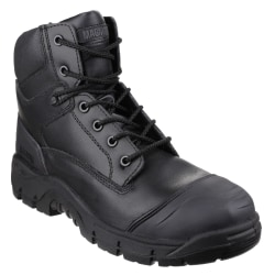 Magnum Roadmaster Leather Safety Boots för herrar 5 UK Svart