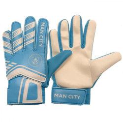 Manchester City FC Målvaktshandskar för barn / barn 7-9 år Sk