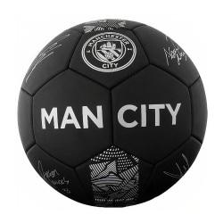 Manchester City FC Fantom signatur fotboll 5 Svart / Grå