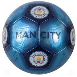 Manchester City FC Signaturfärdighetskula One Size Blå