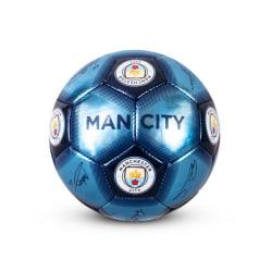 Manchester City FC Signaturfotboll Size 1 Blå