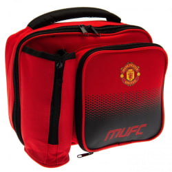 Manchester United FC Fade Lunch Bag One Size Röd
