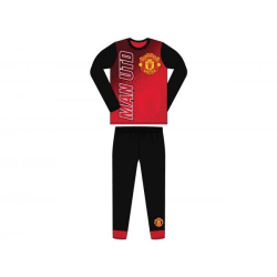 Manchester Utd FC Barn- / barnpyjamas 11-12 yrs Röd svart