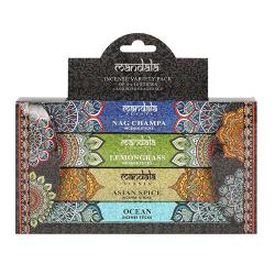 Mandala Rökelse Sticks Set (56-pack) One Size Flerfärgade