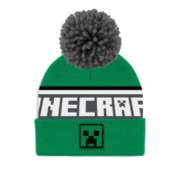 Minecraft Creeper Mössa One Size Grön