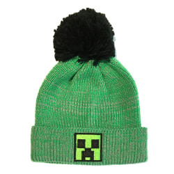 Minecraft Creeper Mössa One Size Grön / svart