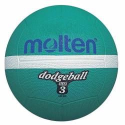 Molten LD3G Dodgeball 3 Djupgrön / vit