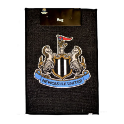 Newcastle United FC Officiell tryckt Crest Design Rug One Size S