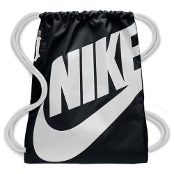 Nike Heritage Gym Bag One Size Svart vit