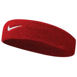 Nike Swoosh pannband One Size Varsity röd / vit