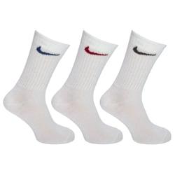 Nike Unisex vuxna icke-vadderade besättningssockor (3 par) 7.5-1