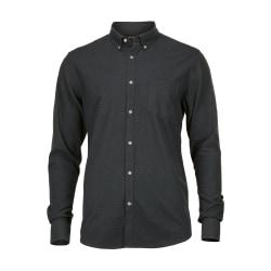 Nimbus Calverton lyxig flanellskjorta för herrar L Indigoblå