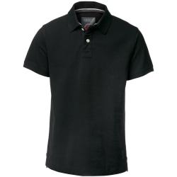 Nimbus Cornell kortärmad poloskjorta för män XL Svart