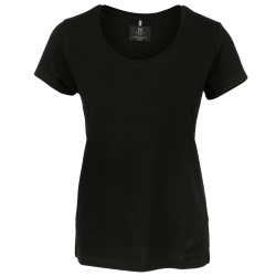 Nimbus Danbury Pique T-shirt med kort ärm, dam / dam 2XL Svart