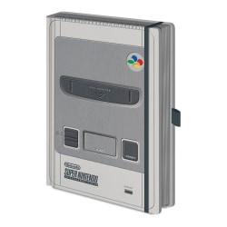 Nintendo SNES A5 Notebook A5 Grå Grey A5