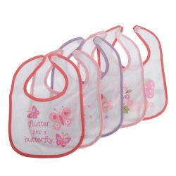 Nursery Time Baby pojkar / flickor söta haklappar (paket med 5)