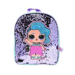 LOL Surprise! Barn- / barnstänk ryggsäck för paljett One Size Bl
